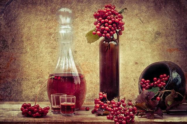 Вино из рябины красной в домашних условиях