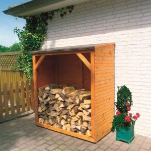 Как сделать дровник для хранения дров