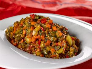 Рецепт баклажанной икры с томатной пастой