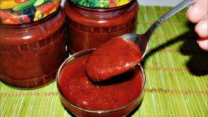 Рецепт ткемали из красной алычи