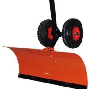 Лопата для уборки снега на колесах Электромаш