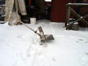 Электро снегоуборщик своими руками
