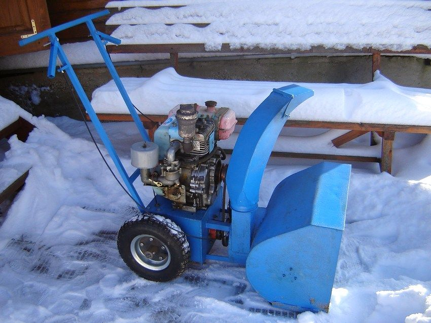 Чертежи снегоуборочных машин
