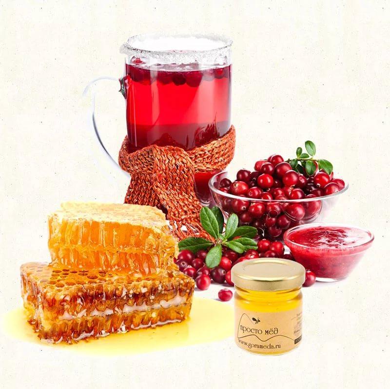 Клюква с медом и лимоном: полезные свойства и рецепты