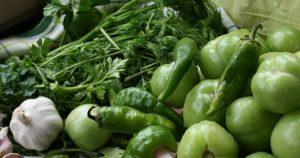 Рецепт Армянчиков из зеленых помидоров