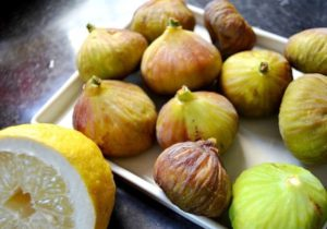 Варенье из инжира с лимоном, лимонным соком