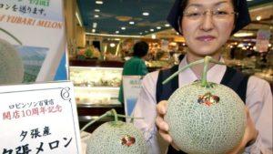 Королевская (японская) дыня Юбари – самая дорогая в мире