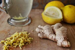 Имбирь, лимон и чеснок для похудения и чистки сосудов