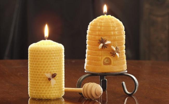 Свечи из вощины и воска своими руками мастер-класс по изготовлению свечек из пчелиного и соевого воска с травами в домашних условиях