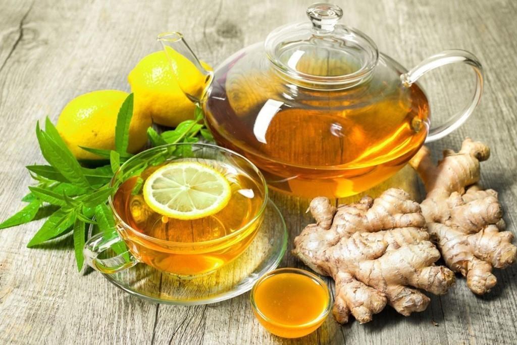 имбирный чай с лимоном и медом рецепт