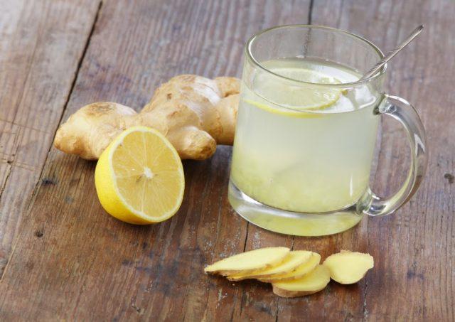 Вода с лимоном и имбирем: как заваривать и пить