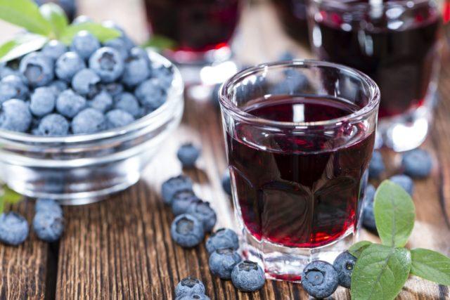 Морс из черники: рецепты с фото из свежих, замороженных ягод