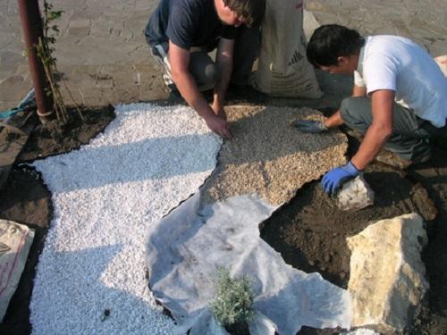 Сад из камней своими руками: фото красивых композиций   пошаговый мастер-класс