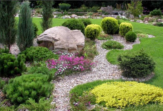 Рокарий в ландшафтном дизайне: красивые идеи + пошаговая инструкция с фото