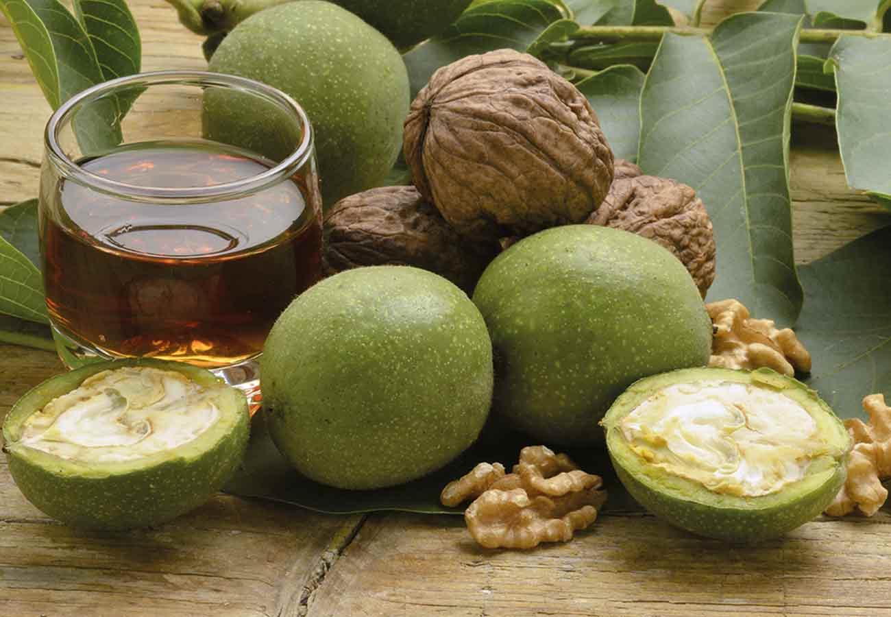 Кожура грецкого ореха – применение, рецепты народной медицины