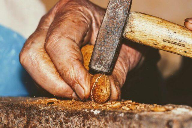 Как расколоть грецкие орехи в домашних условиях, не повредив ядра