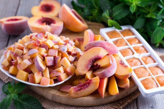 Как заморозить свежие персики в домашних условиях на зиму
