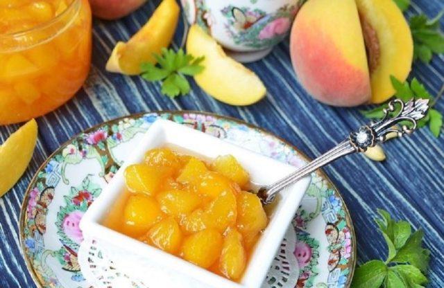 Рецепты приготовления персикового варенья с апельсинами на зиму