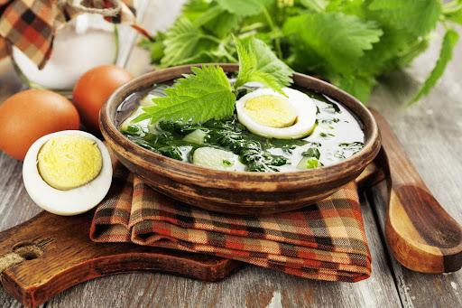 Борщ с крапивой: рецепты, как приготовить с яйцом, щавелем, отзывы